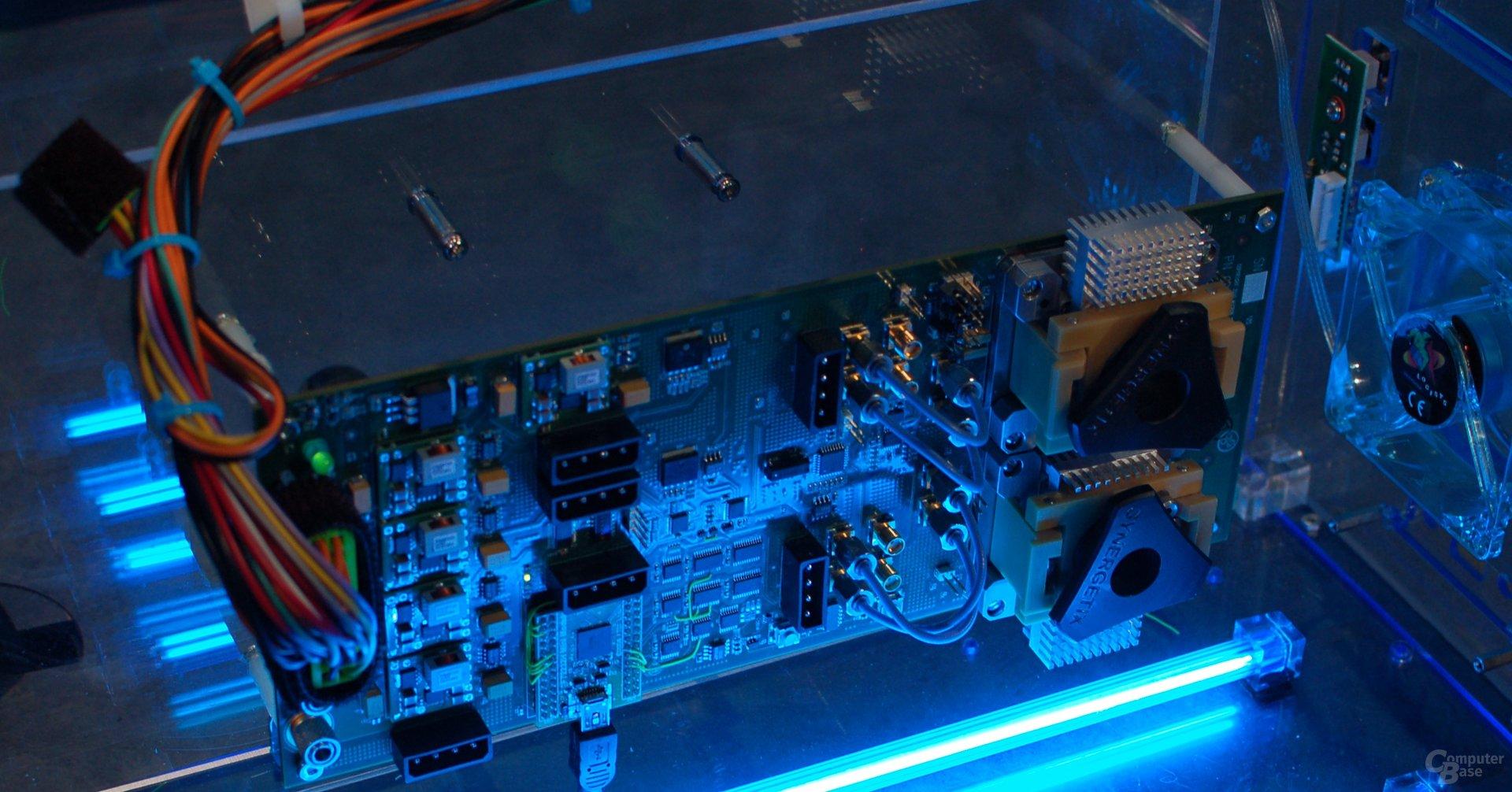Testsystem mit Hybrid Memory Cube