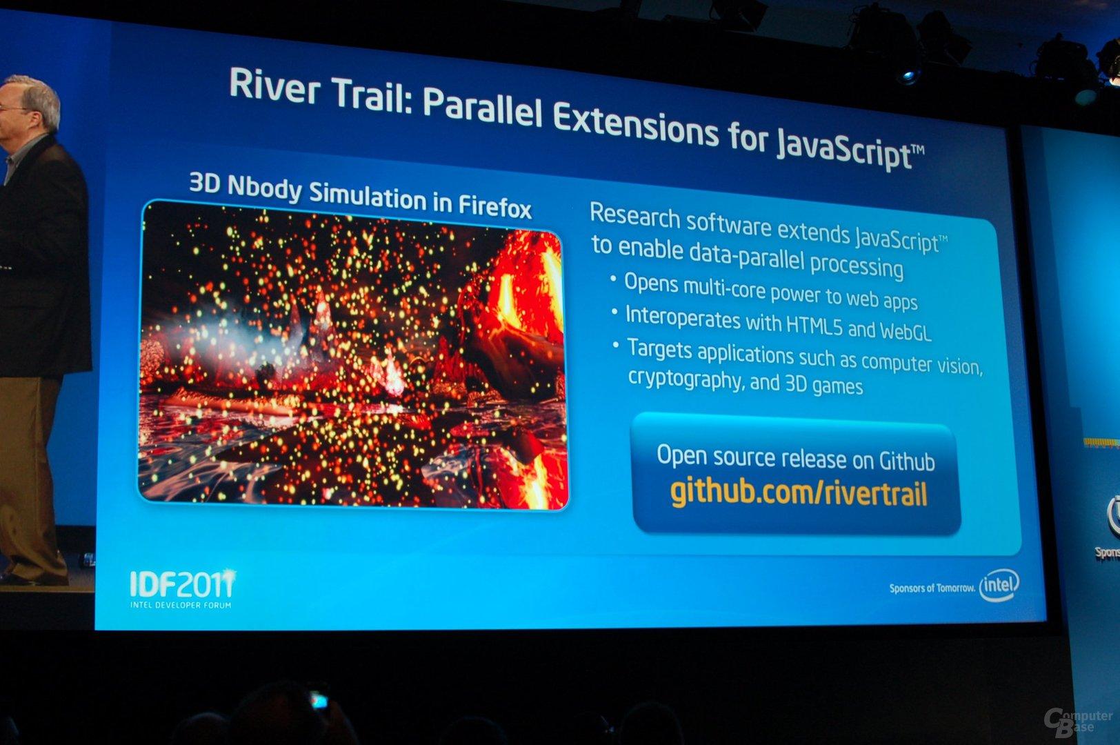 JavaScript mit River Trail
