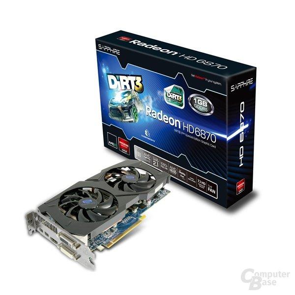 Sapphire Radeon HD 6870 1G GDDR5 Dirt3 Edition
