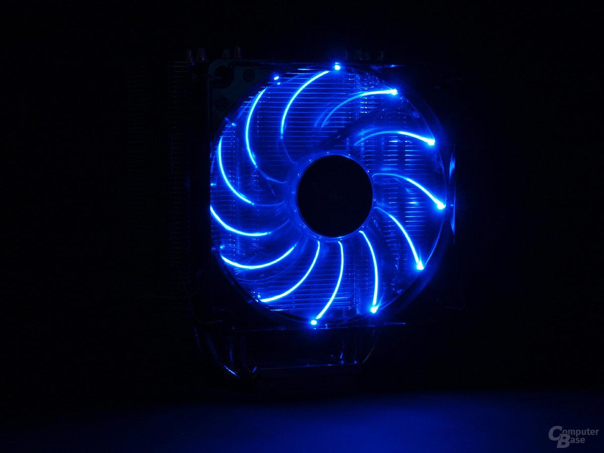 Statischer Lichteffekt