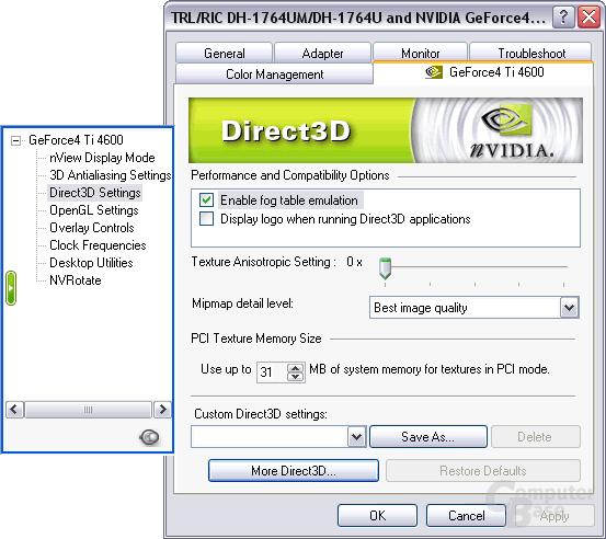 Nvidia Detonator 4041