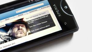 Sony Ericsson Xperia Ray im Test: Mehr Design für weniger Geld