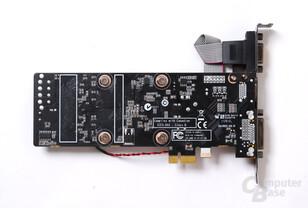 Zotac GeForce GT 520 mit PCIe-x1-Anschluss