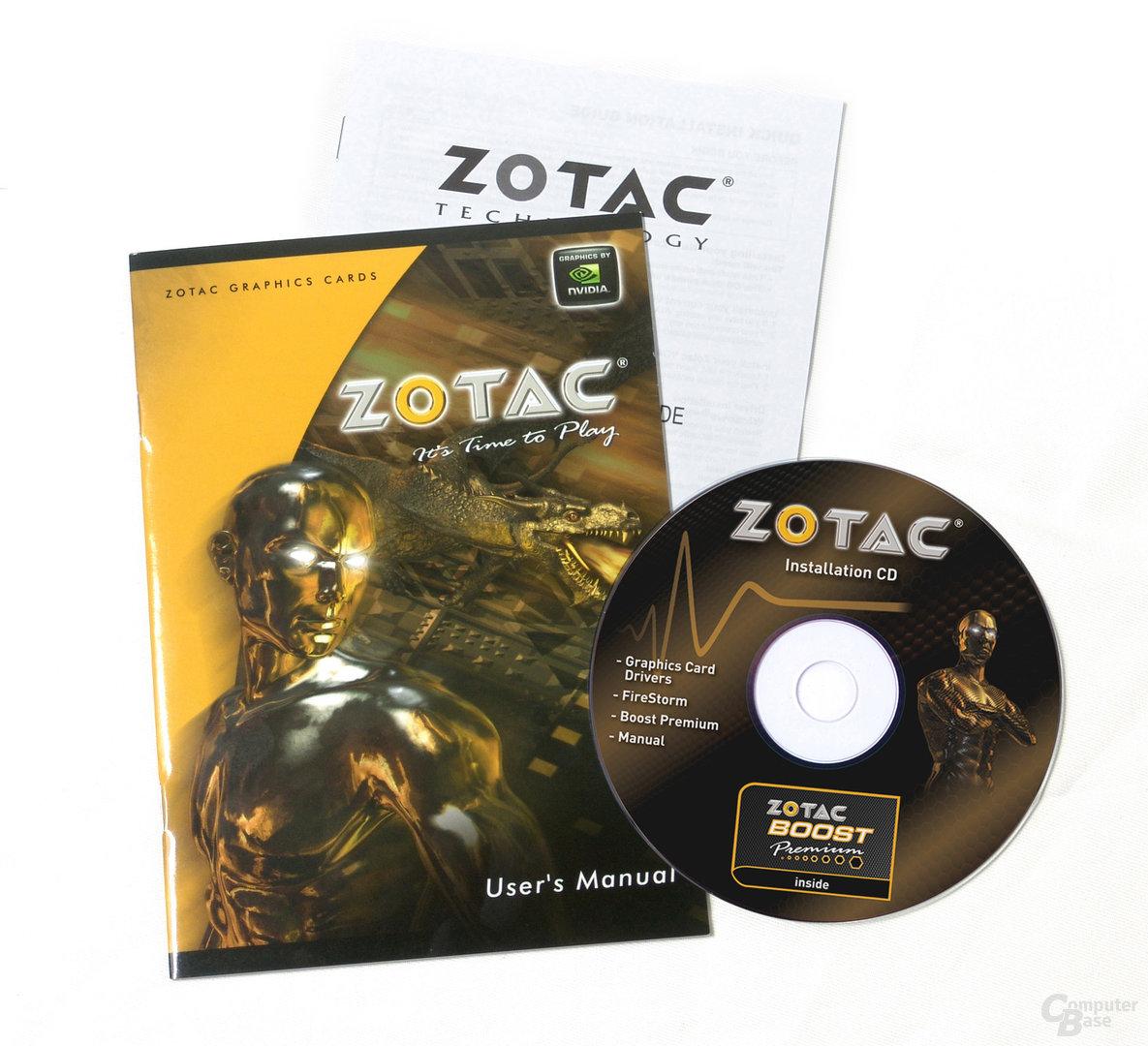 Zotac GeForce GT 520 mit PCI-Anschluss