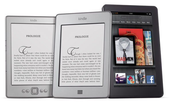 Amazon Kindle, Kindle Touch und Kindle Fire