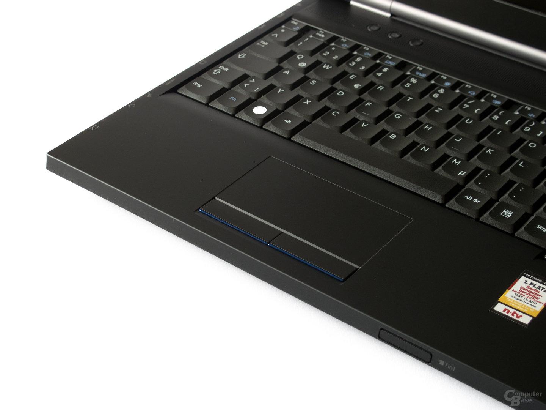 Samsung 200B5B: Touchpad mit Problemen bei Multitouch-Gesten