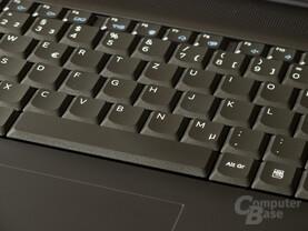 Samsung 200B5B: Guter Schreibkomfort, zu kleine Funktionstasten