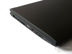 Samsung 200B5B: Anschlüsse links