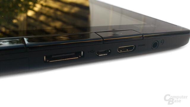 Lenovo ThinkPad Tablet: Die suboptimalen Knöpfe an der Seite