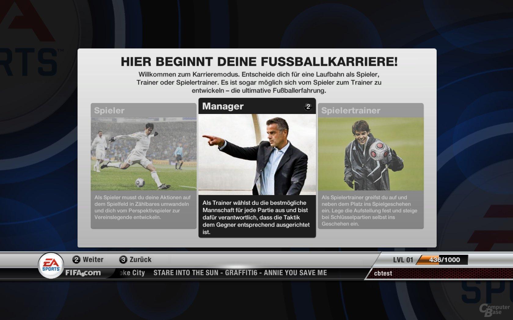 FIFA 12 – Karrieremodus