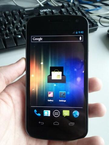 Front des Nexus Prime/Galaxy Nexus