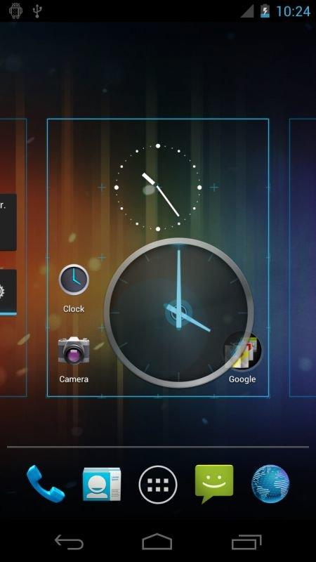 Screenshot des Nexus Prime/Galaxy Nexus