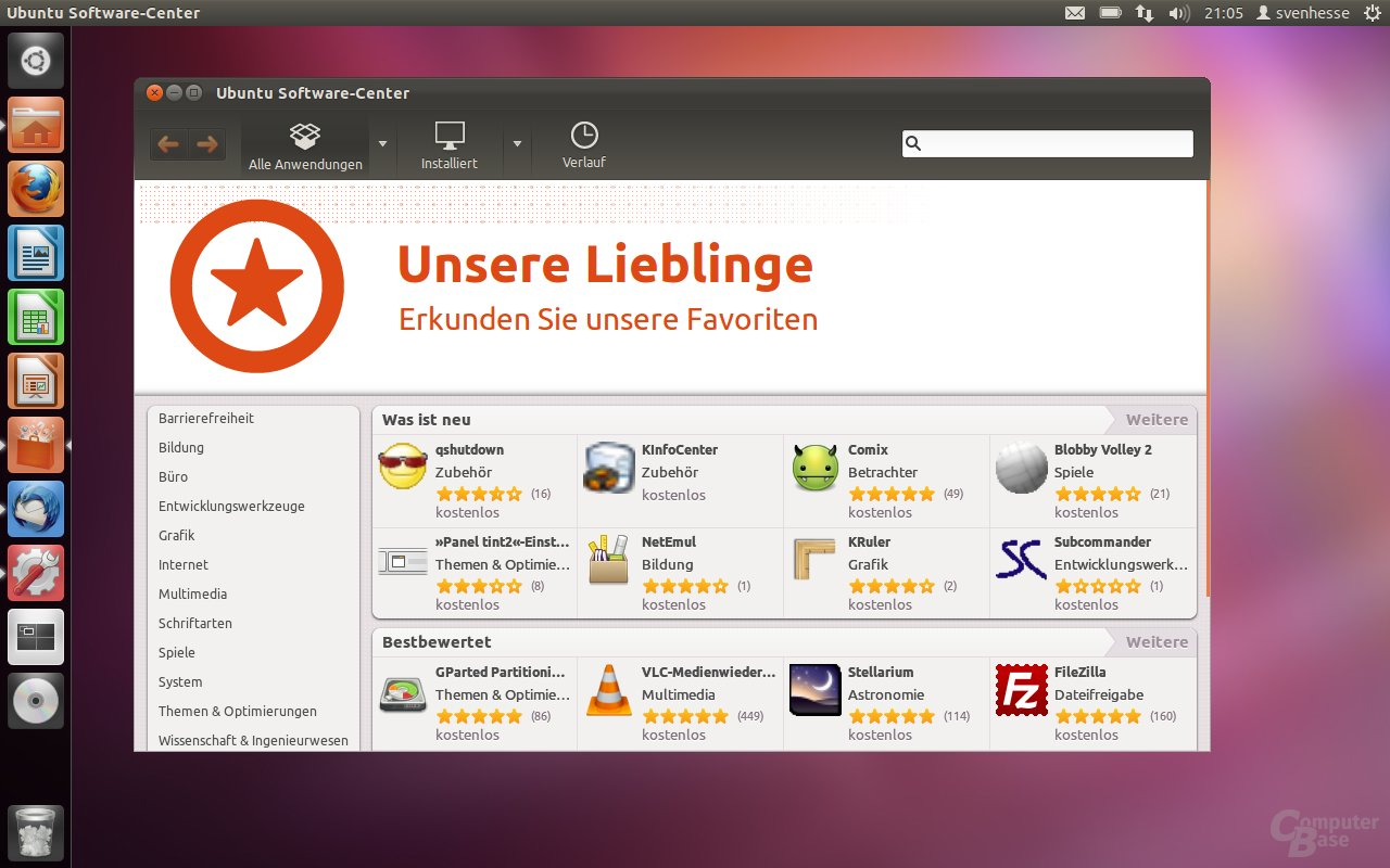 Ubuntu 11.10 – Software-Center