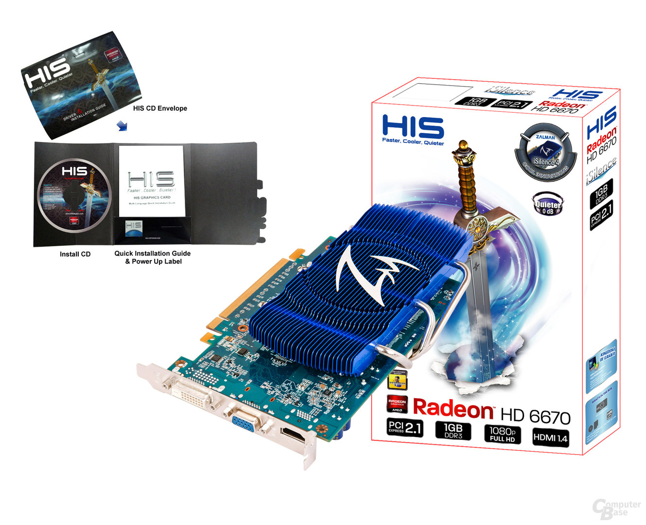 HIS Radeon HD 6670 iSilence 4