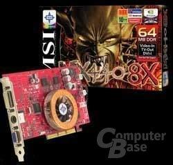MSI MX440T mit NV18 Chip