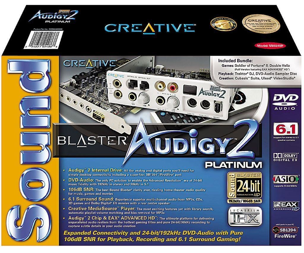 Audigy2 Platimun Box