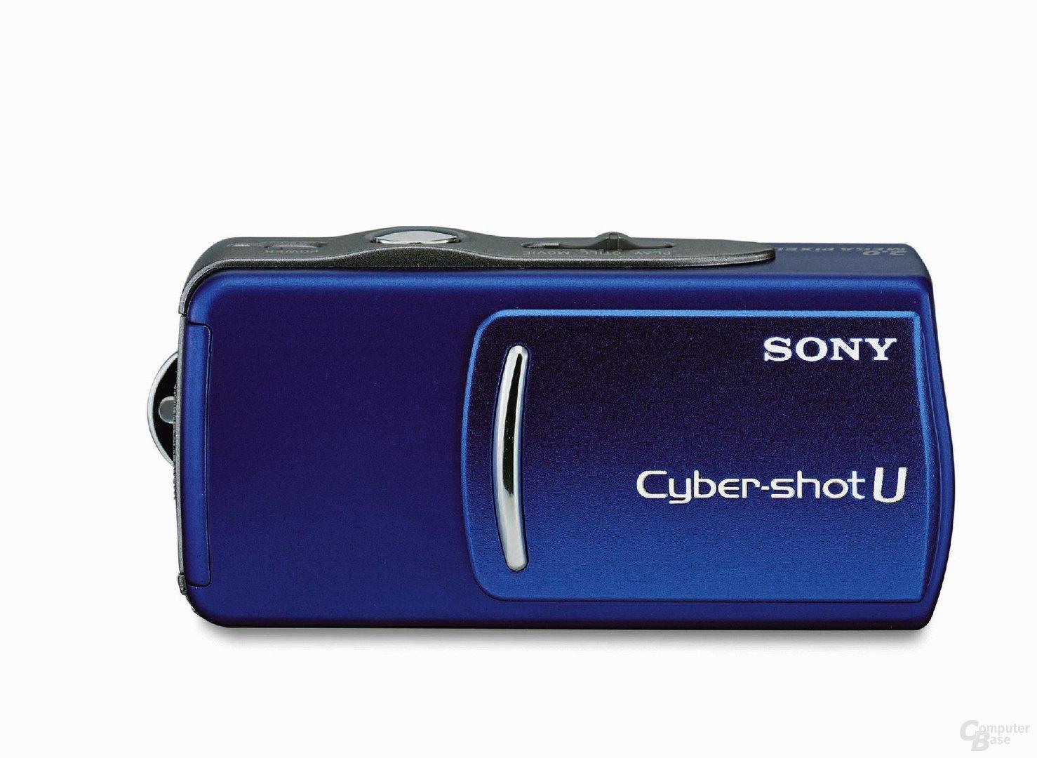Sony Cybershot U in Blau