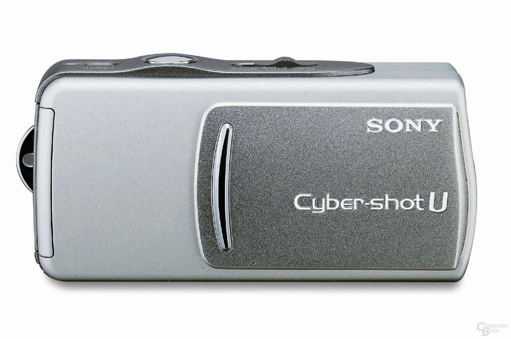 Sony Cybershot U in Silber