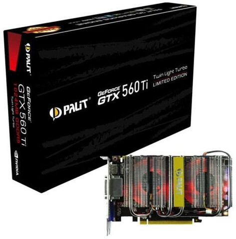 Palit GeForce GTX 560 Ti Twin Light Turbo