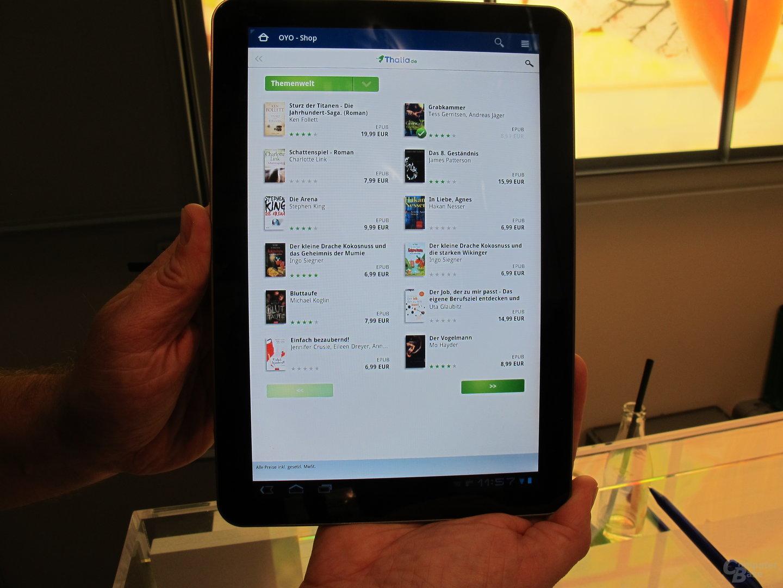 Oyo-App für Android