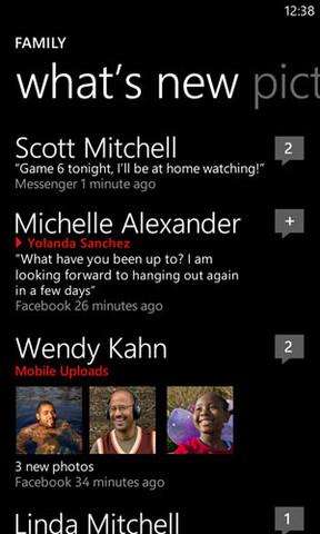 Windows Phone 7.5: Neue Nachrichten