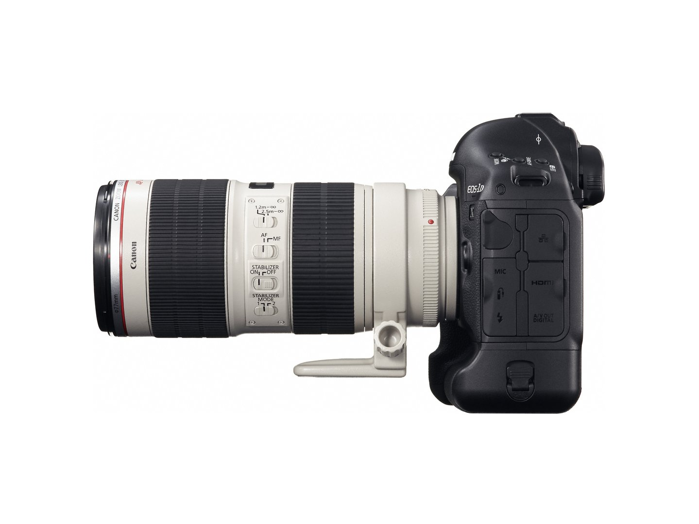 Canon EOS-1D X mit EF 70-200mm 1:2,8L USM IS II
