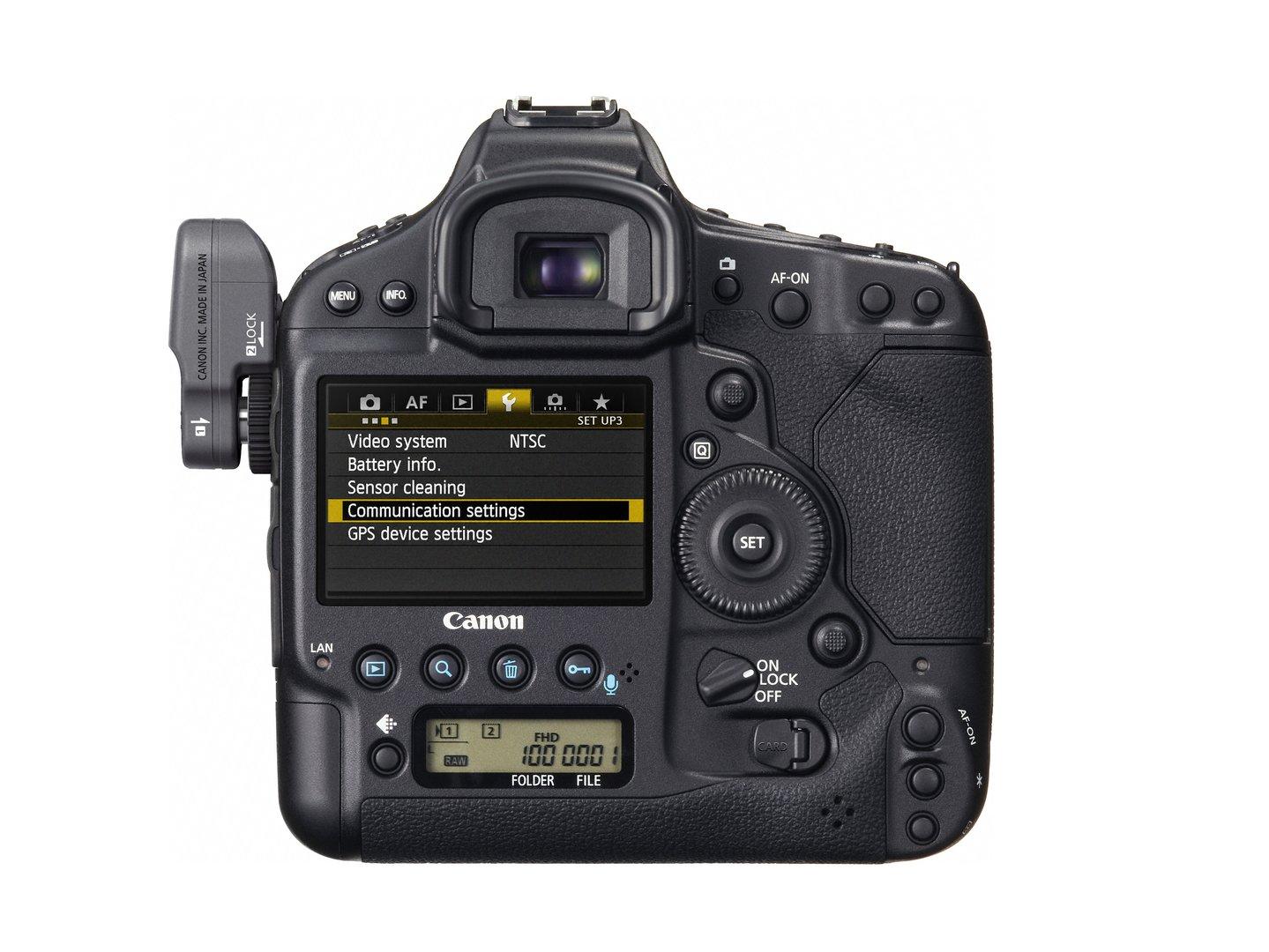 Canon EOS-1D X mit Canon WFT-E6