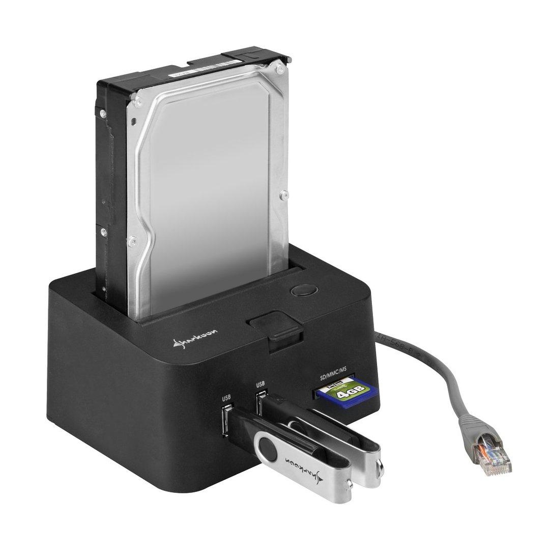 Sharkoon SATA QuickPort Pro LAN Giga