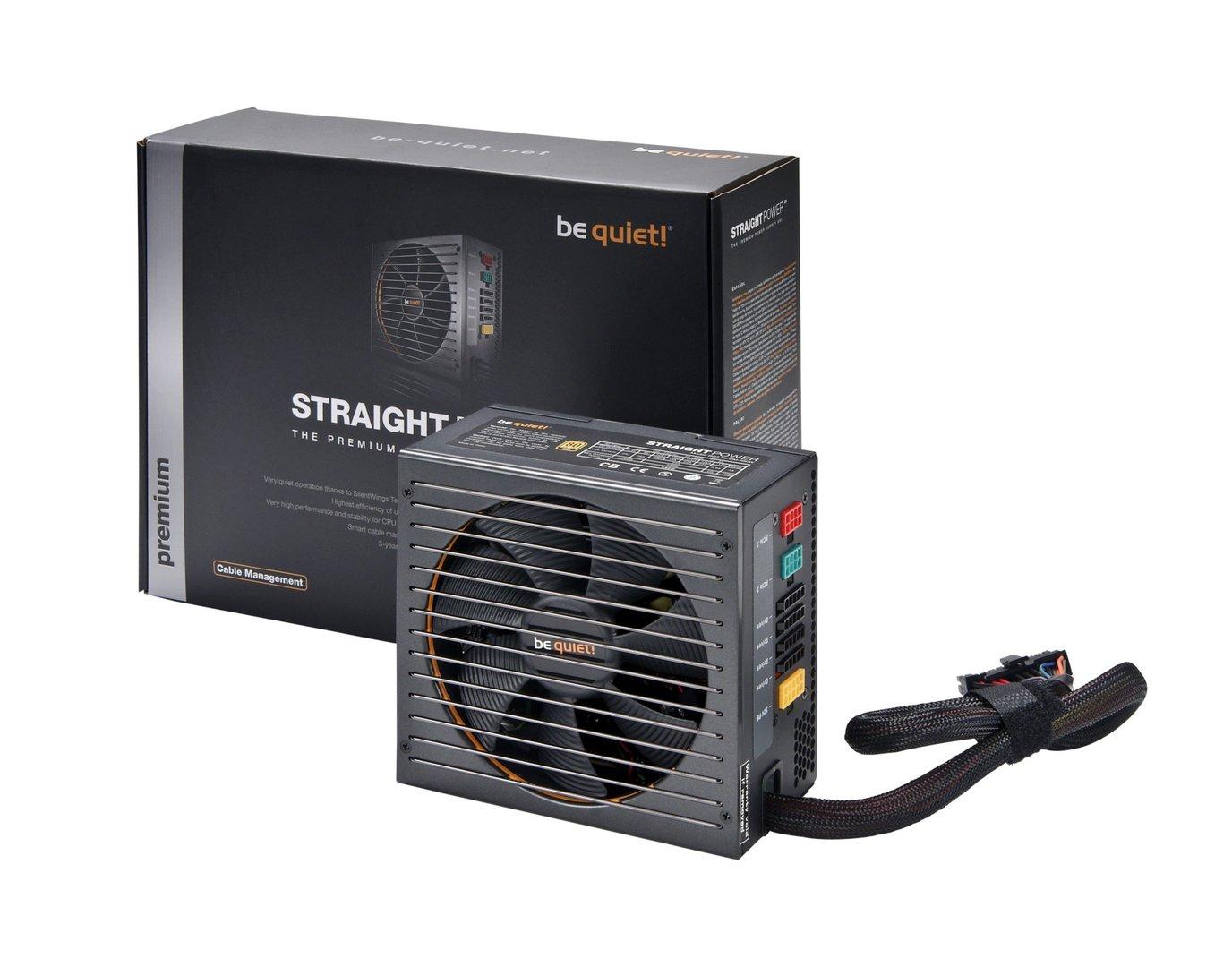 be quiet! Straight Power E9 mit Kabelmanagement