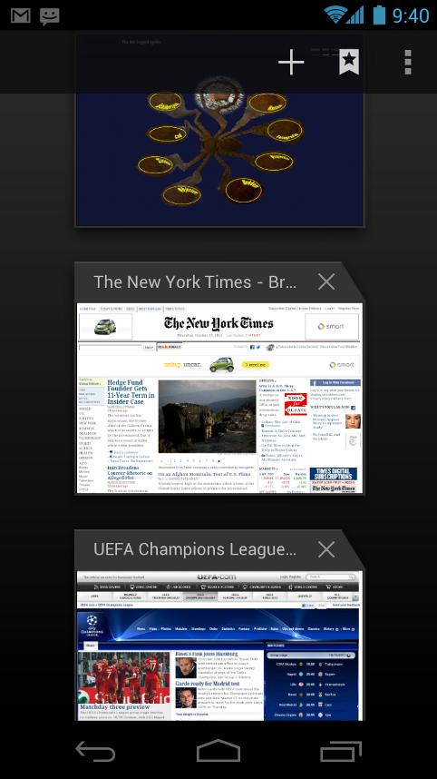 Tabs im Browser