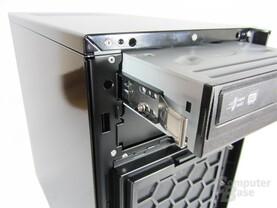 """Antec Solo II – Schienensystem für 5,25""""-Geräte"""