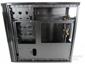 Antec Solo II – Rückseite Mainboardträger
