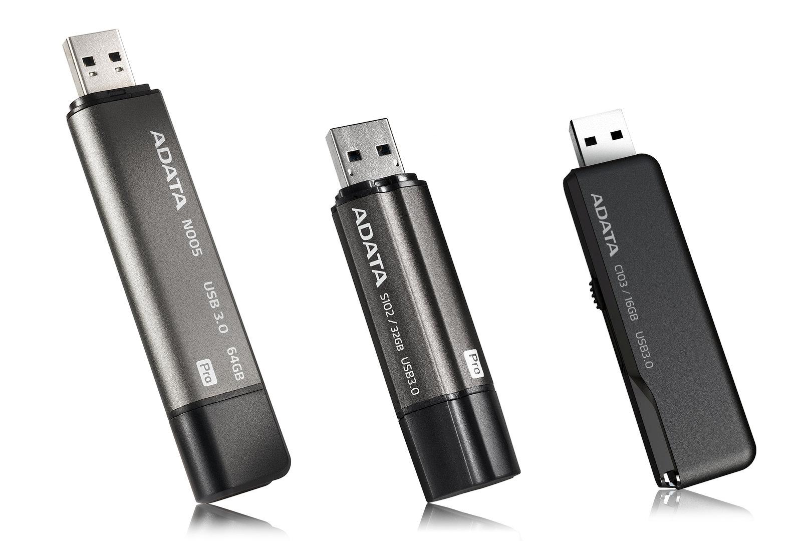 Adatas neue USB-3.0-Sticks