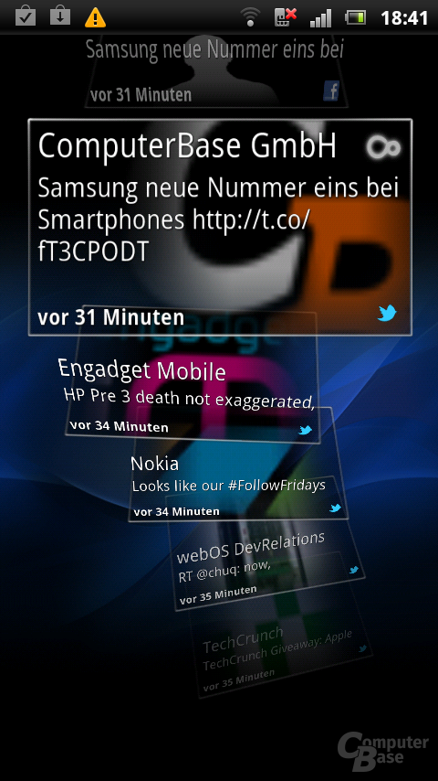 Sony Ericsson Xperia Arc S UX