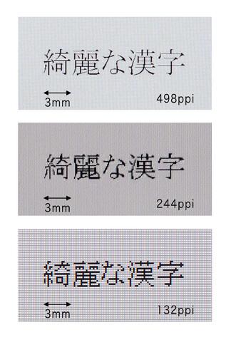 Toshiba-Display mit XD-Auflösung