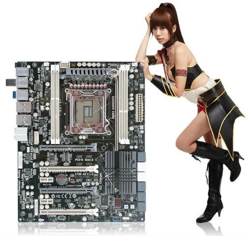 ECS X79R-AX Black Extreme