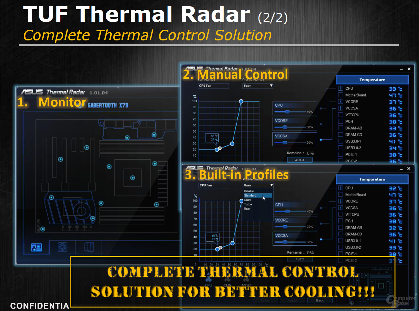 TUF Thermal Radar