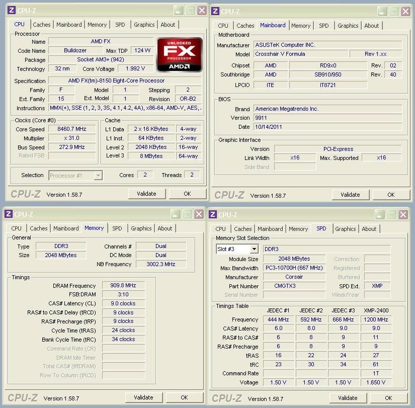 Rekord: AMD FX-8150 bei 8,46 Ghz