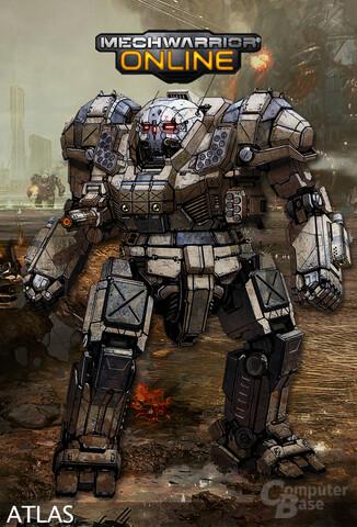 """Conceptart: MechWarrio Online """"Atlas"""""""