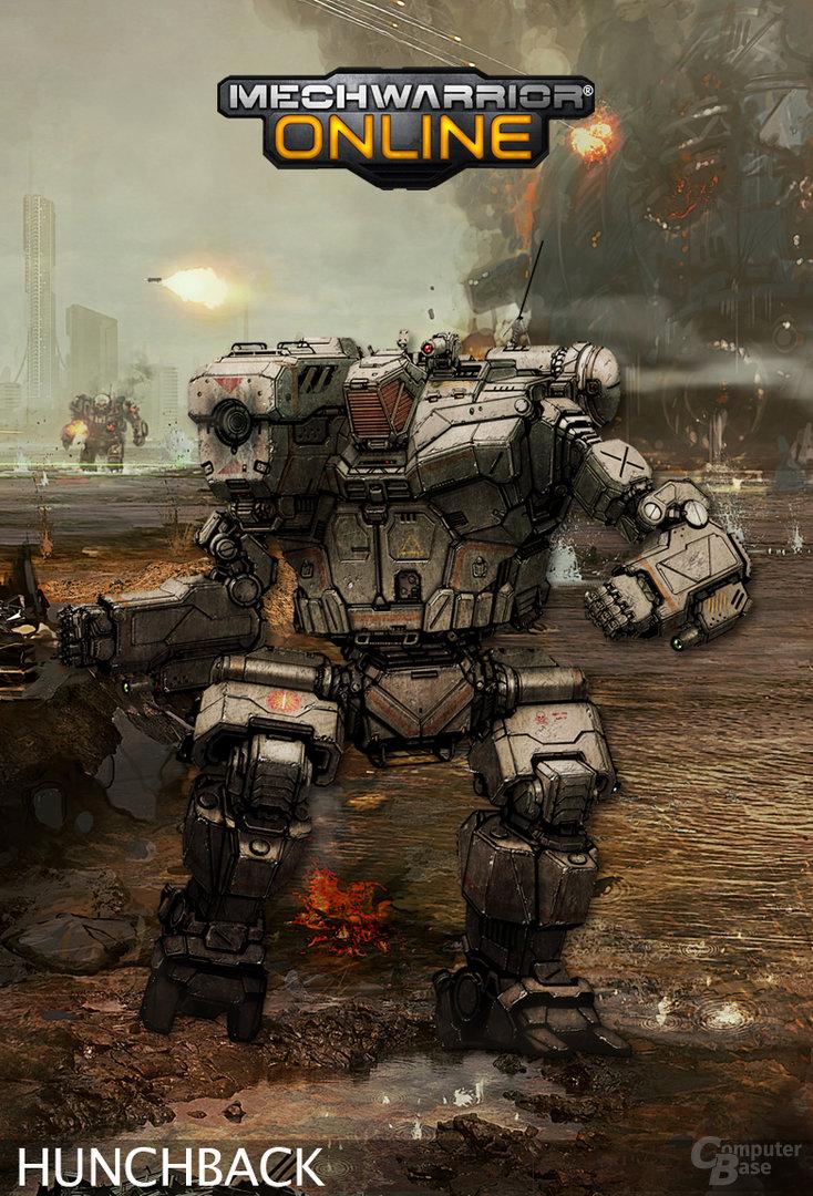 "Conceptart: MechWarrior Online ""Hunchback"""