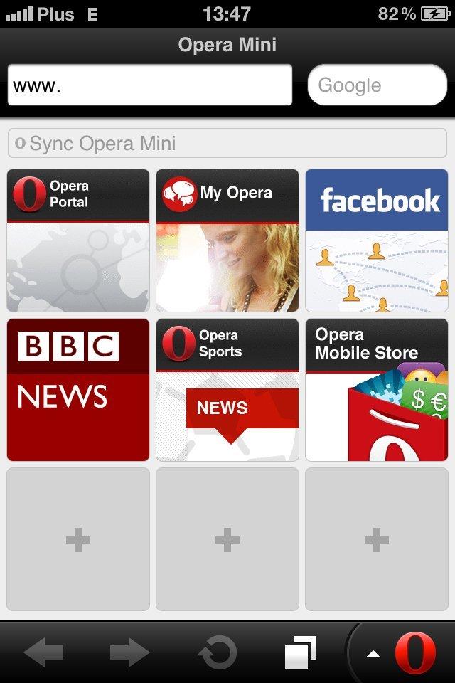 Opera Mini 6.5 (iPhone)