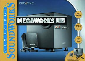 MegaWorks THX 2.1 250D
