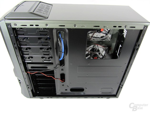 MS-Tech CA0300 NG – Rückseite Mainboardträger