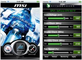 MSI Afterburner für iOS