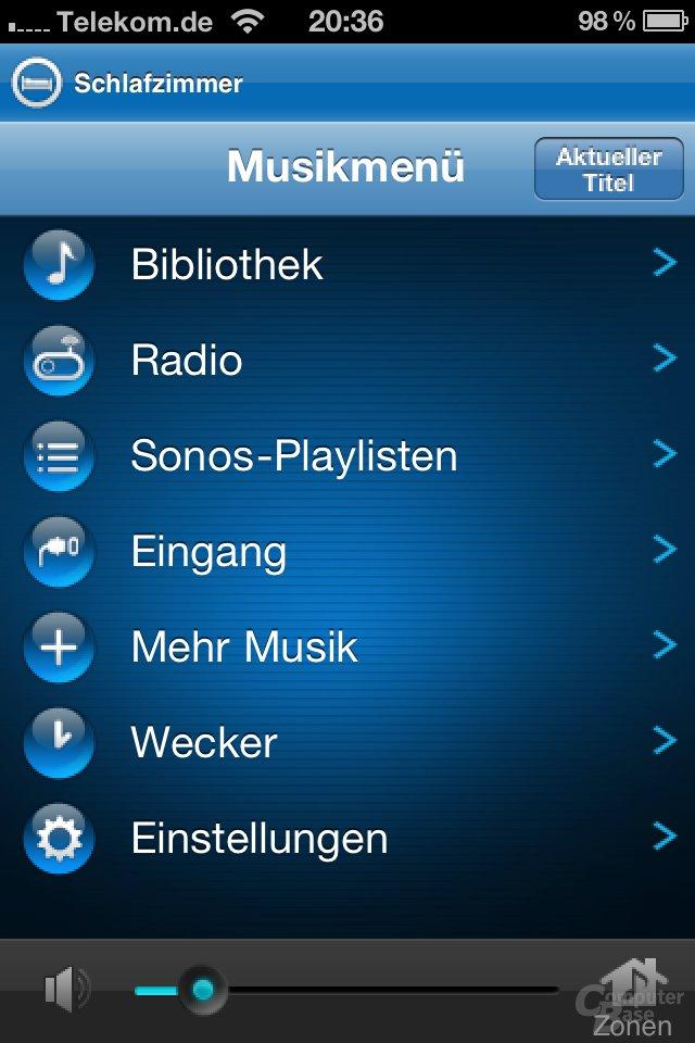 Sonos-App