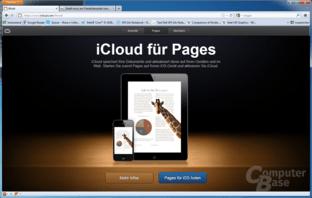 iCloud iWork