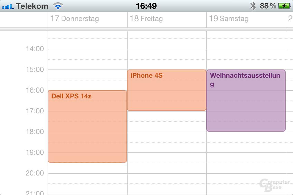 iCloud Kalender Woche (Bild 11/30) - ComputerBase
