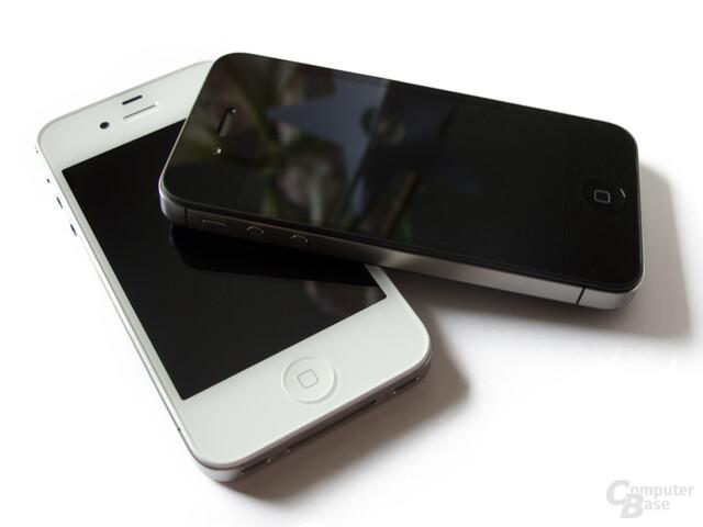 Auch das iPhone 4S ist in schwarzer und weißer Ausführung erhältlich