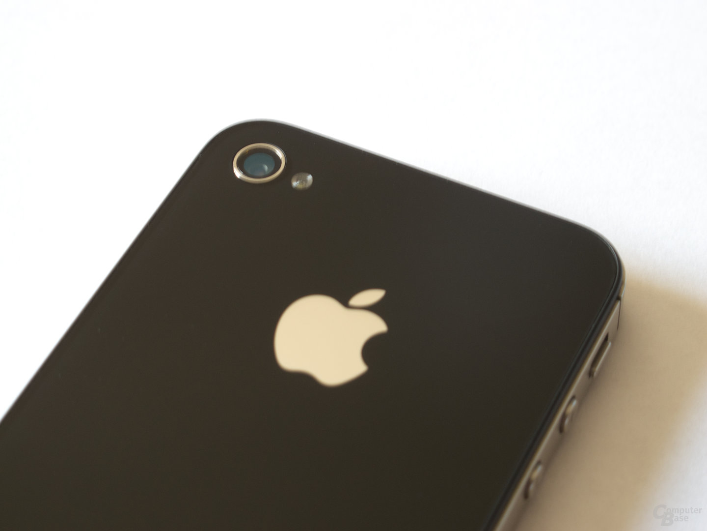 Apple iPhone 4S: Acht-Megapixel-Kamera nebst LED-Blitz