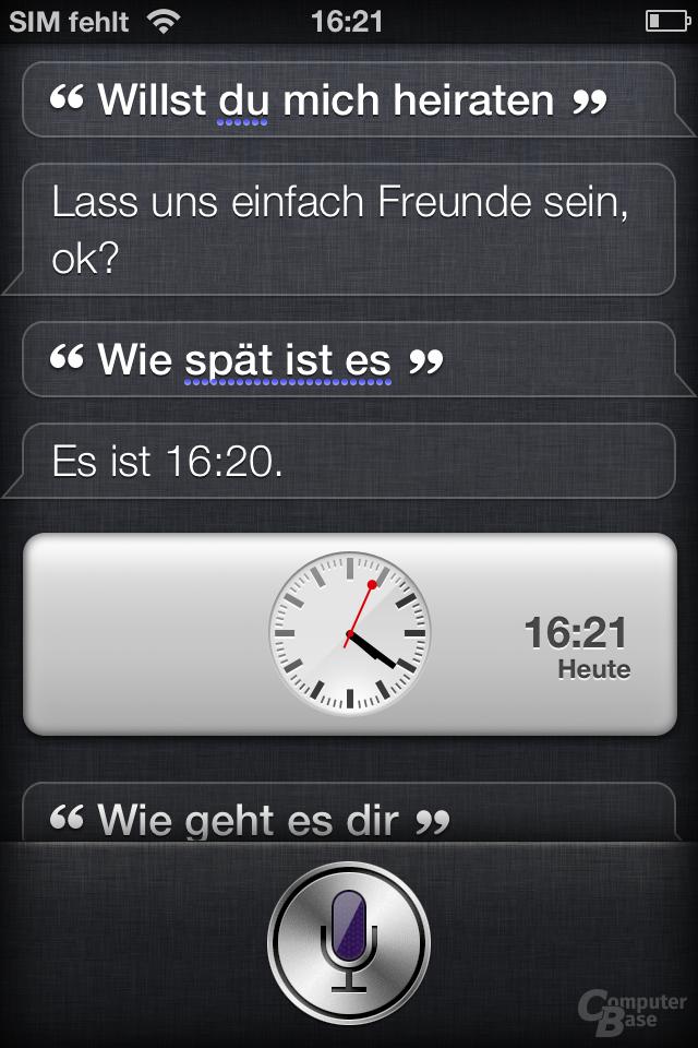 iOS 5 - Siri